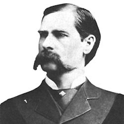 Wyatt Earp and his pet mustache