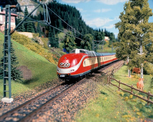 One of the more boring parts of this train set, believe it or not.