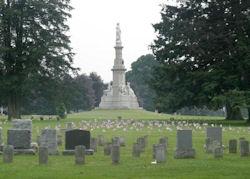 The easiest way to find dead people in Gettysburg.